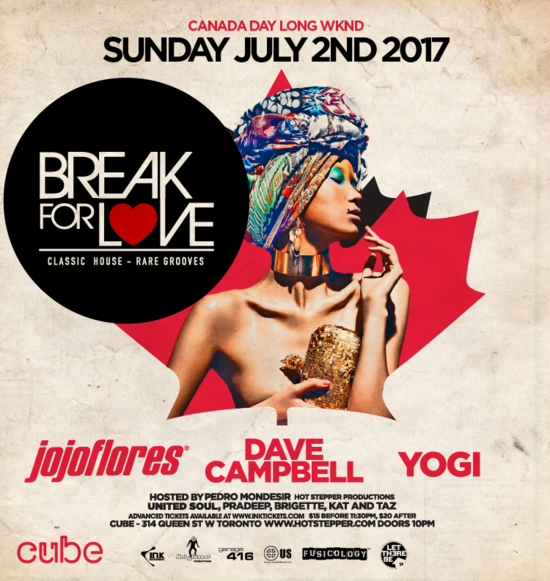 Canada Day Wknd Break For Love